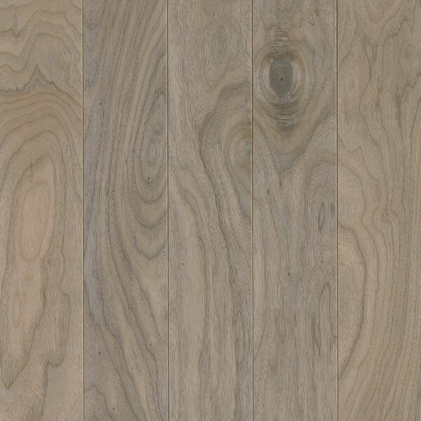 Perf Plus 5 Engineered Walnut Hardwood Flooring in Shell White by Armstrong Flooring