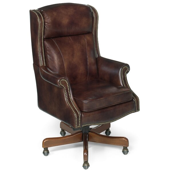 Empire Leather Executive Chair by Hooker Furniture