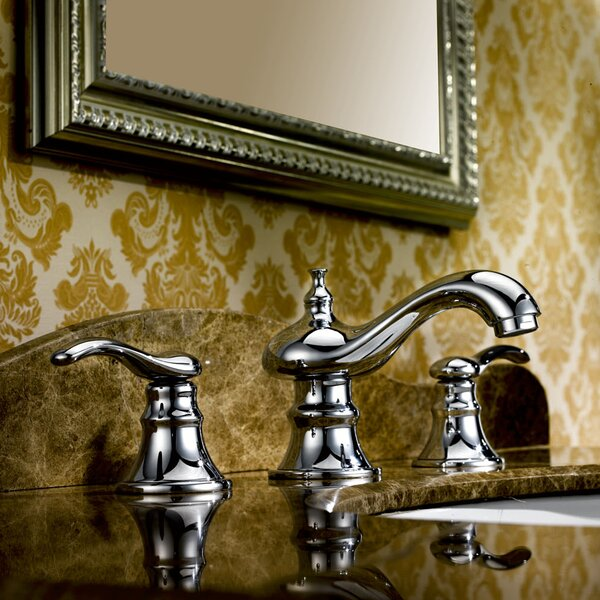 Off Center Brass Faucet by American Imaginations American Imaginations