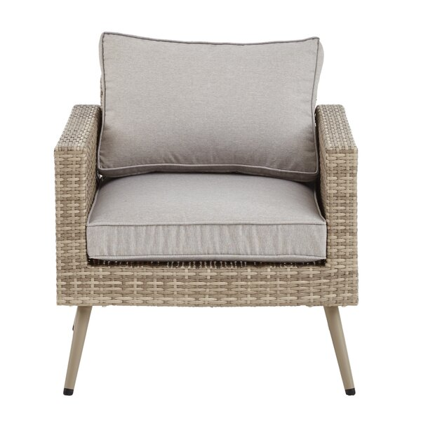 Pantano Lounge Chair with Cushions by Bungalow Rose