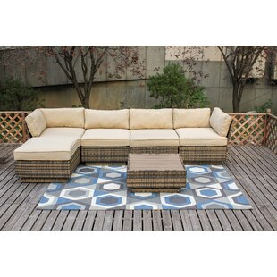 Alani 6 Piece Sectional Set with Cushions By Bayou Breeze