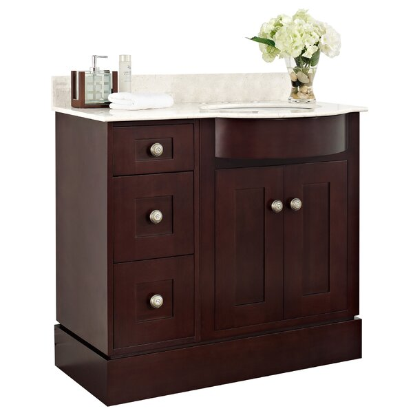 Kester Transitional 36 Single Bathroom Vanity Set by Darby Home Co