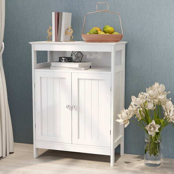 Carnlea 23.6'' W x 31.5'' H x 11.8'' D Free-Standing Bathroom Cabinet