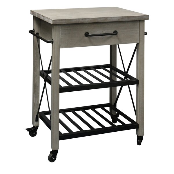 Sadler Rustic Kitchen Cart by Union Rustic