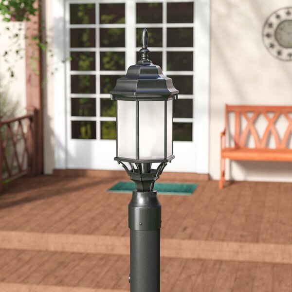 Bayou 1-Light Outdoor Post Light by Three Posts