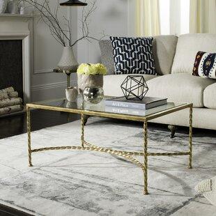 Rose Gold Glass Coffee Table | Wayfair