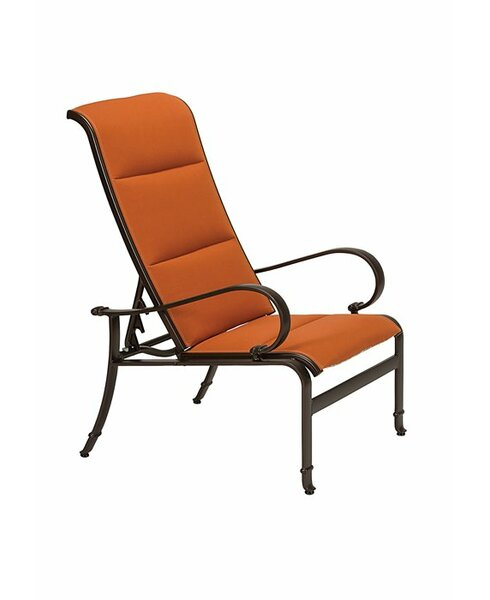 Torino Padded Sling Recliner Chair with Cushion by Tropitone
