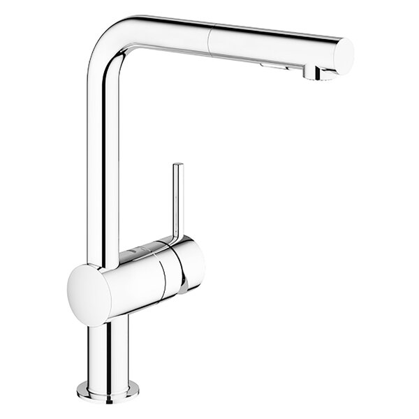 Minta Single Handle Pull-Out Kitchen Faucet by Grohe