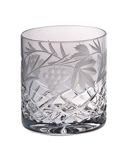 Grape 14 oz. Crystal Cocktail Glass (Set of 4) by Majestic Crystal
