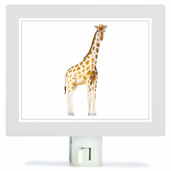 Animal Kingdom - Giraffe by Brett Blumenthal Canvas Night Light by Oopsy Daisy