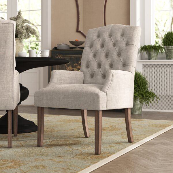 Kosinski Upholstered Dining Chair by Alcott Hill