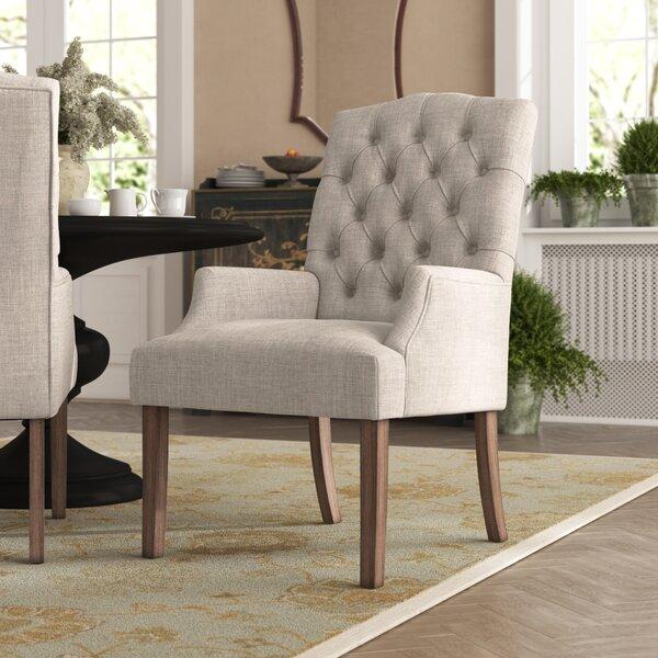 Kosinski Upholstered Dining Chair by Alcott Hill