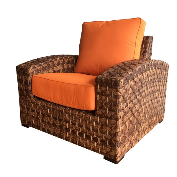 Lankford Patio Chair with Cushions by Bayou Breeze