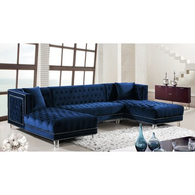 Willa Arlo Interiors Symmetrical Sectional Upholstery Color Sectionals