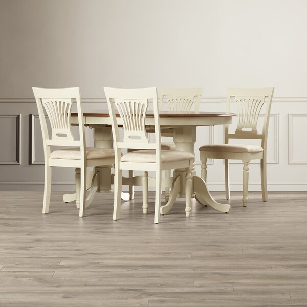 Germantown 5 Piece Extendable Dining Set by Darby Home Co Darby Home Co