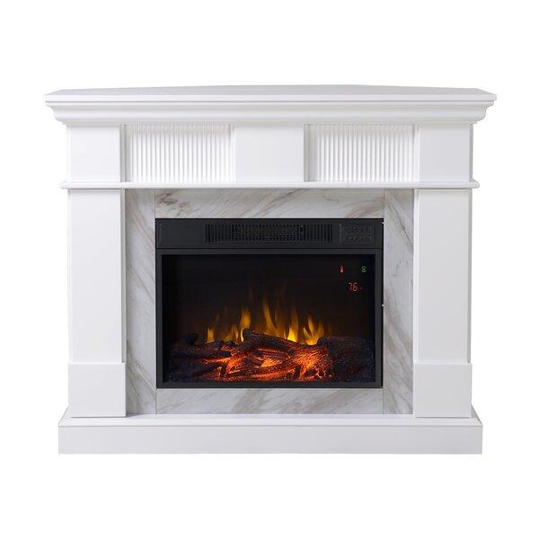 Genova Electric Fireplace by Homestar