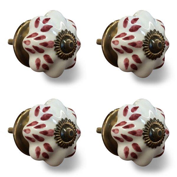 Handpainted Novelty Knob (Set of 4) by Taj Hotel