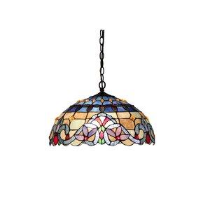 Laurie 2-Light Ceiling Bowl Pendant