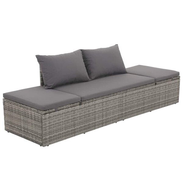Carles Garden Daybed with Cushions by Latitude Run