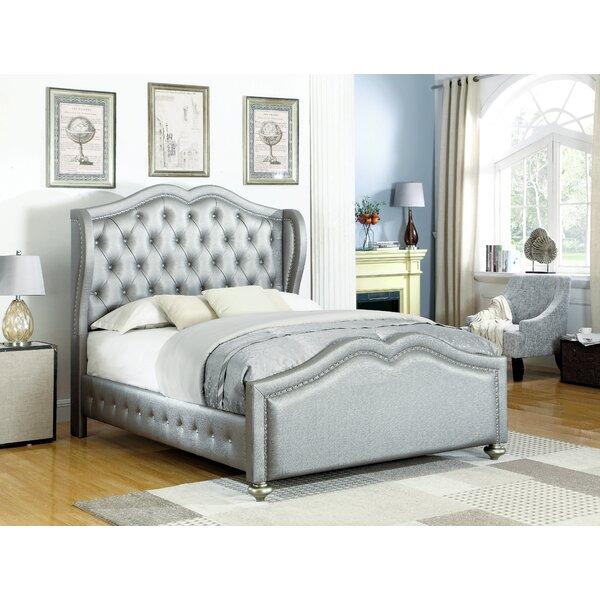 Rachelle Upholstered Standard Bed by Rosdorf Park