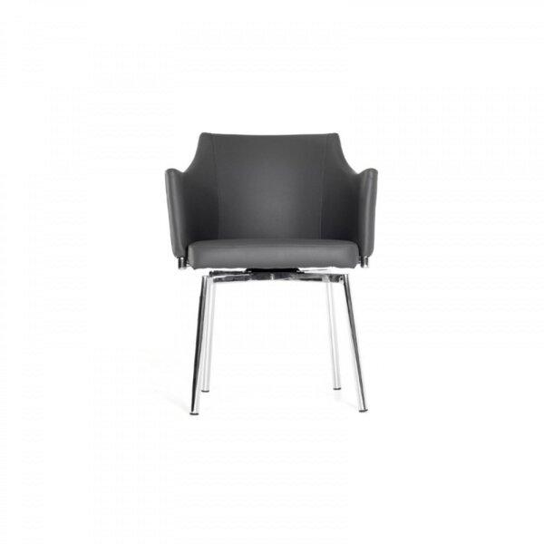Rudra Swivel Upholstered Dining Chair by Orren Ellis
