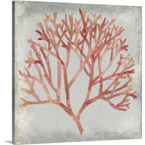 Coral IV by Megan Meagher Painting Print on Canvas by Great Big Canvas