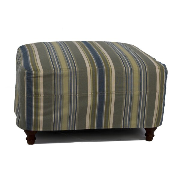 Seacoast Ottoman by Sunset Trading
