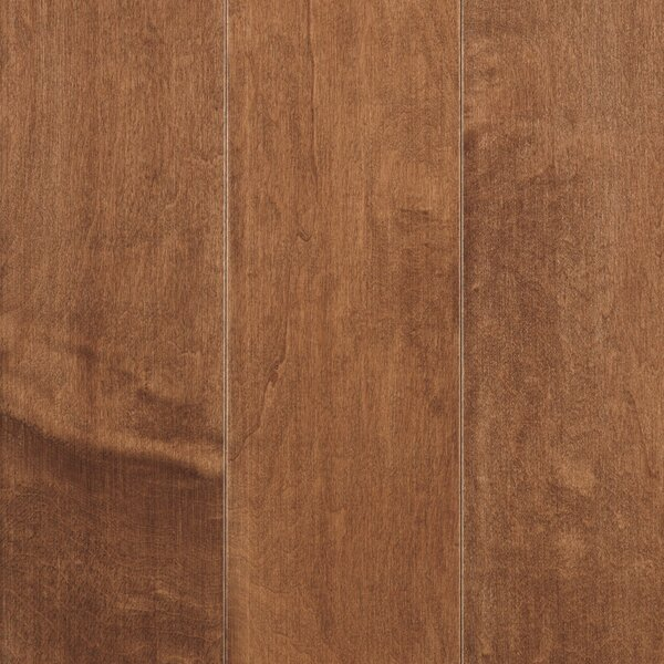 La Grotta 5 Engineered Maple Hardwood Flooring in Brick by Mohawk Flooring