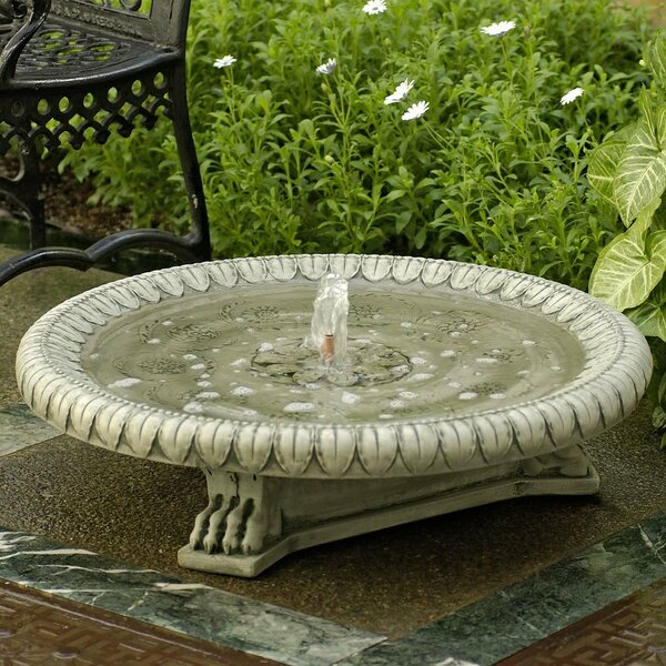 Longwood Concrete Claw Footed Fountain by Campania International