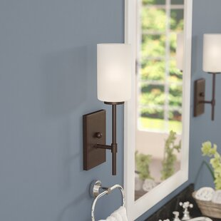Best Reviews Mcmullin 1-Light Wallchiere By Three Posts