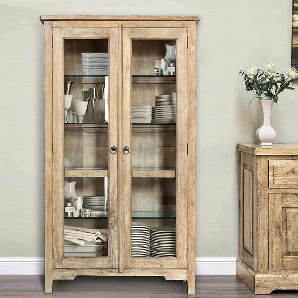 Tarrance Standard Curio Cabinet by August Grove