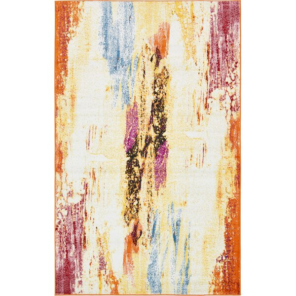 Sidney Cream Area Rug by Wrought Studio