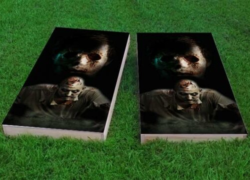 Walking Dead Zombies Cornhole Game (Set of 2) by Custom Cornhole Boards