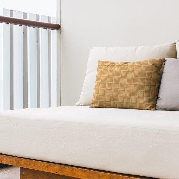 Classic Basketweave Indoor/Outdoor Lumbar Pillow
