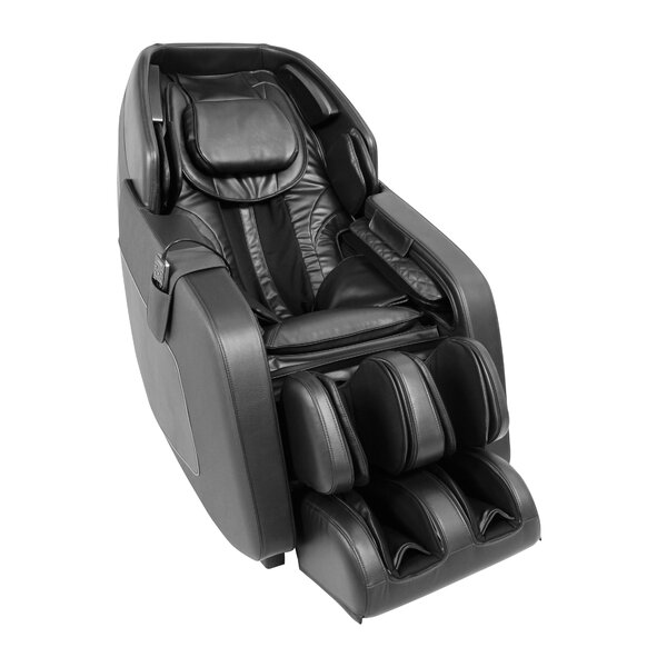 Reclining Adjustable Width Heated Full Body Massage Chair By Latitude Run