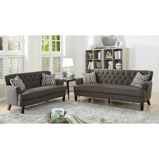 Jacinto 2 Piece Living Room Set