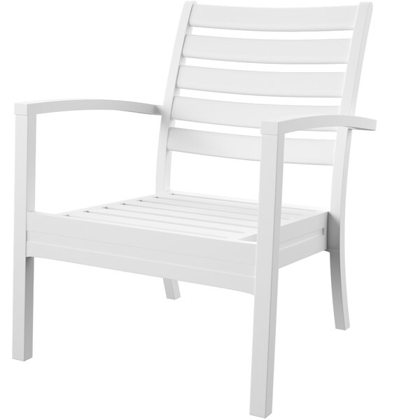 Melissus Stacking Patio Dining Chair (Set of 2) by Mercury Row