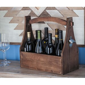 Wood 8 Tabletop Wine Bottle Rack by Cole & Grey