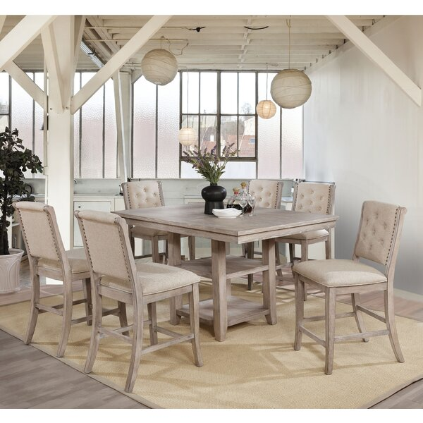 Oscar 7 Piece Dining Set by One Allium Way