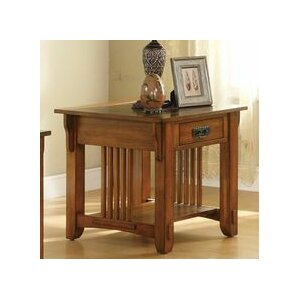 Aretha Traditional End Table by Red Barrel S..