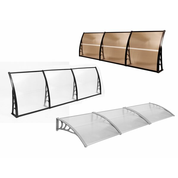 10 ft. W x 3.5 ft. D Window & Door Awning by MCombo