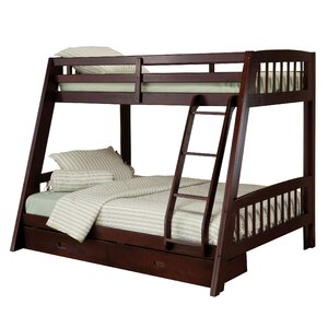 Madyson Twin over Full Bunk Bed with Storage