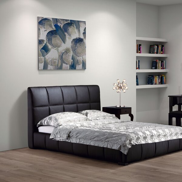 Forbes Upholstered Standard Bed by Wade Logan