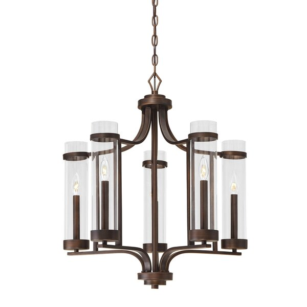 Pineiro 5-Light Candle Style Classic / Traditional Chandelier By Breakwater Bay