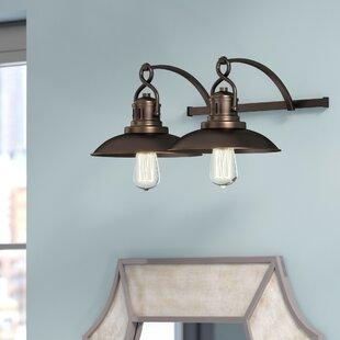 Big Save Meridian 2-Light Vanity Light ByTrent Austin Design