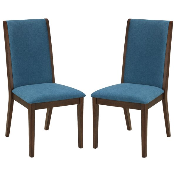 Modern Port Morris Kendall Upholstered Dining Chair (Set Of 2) By Charlton Home 2019 Sale