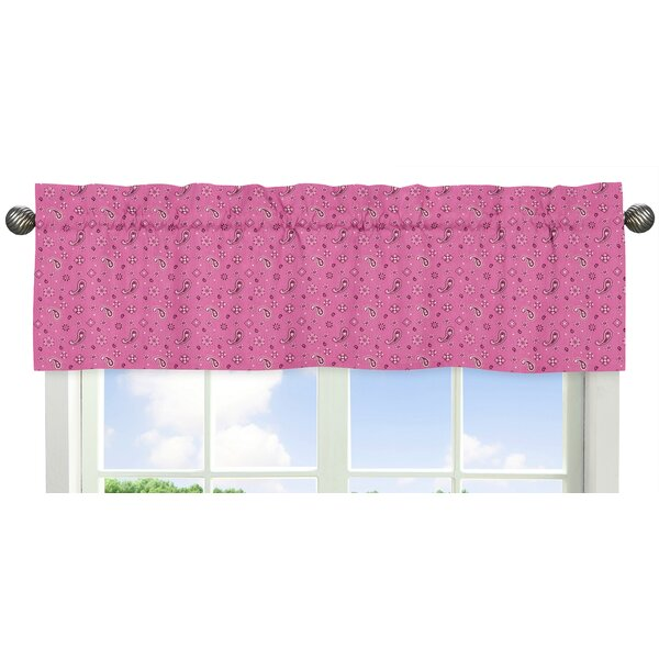 Cowgirl Bandana 54 Window Valance by Sweet Jojo Designs