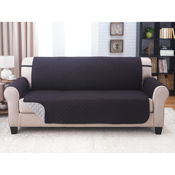 Box Cushion Sofa Slipcover By Symple Stuff