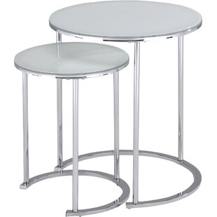 Read Reviews 2 Piece Nesting Table Set By !nspire