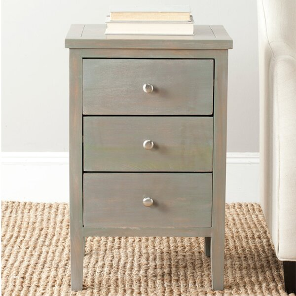 Faris End Table by Highland Dunes